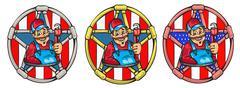 plumber - stock illustration