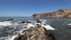 Abalone Cove in Southern California Stock Footage