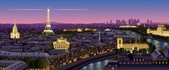 Paris Stock Illustration