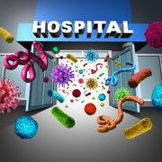 Stock Illustration of Hospital Germs