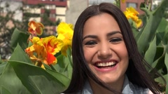 Happy Woman, Smiling Female Stock Footage