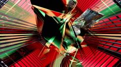 Rotating hypnotic shape Arkistovideo
