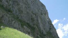 High Steep Mountain - stock footage