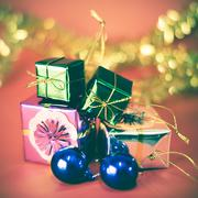 item decorate for christmas tree - stock photo