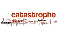 Catastrophe word cloud concept Kuvituskuvat