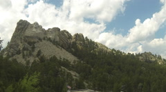 Mount Rushmore Timelapse 1 Stock Footage