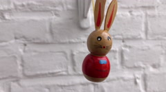 Little Easter Bunny Stock Footage