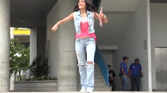 Student Dancing, Teens, Teenagers Stock Footage