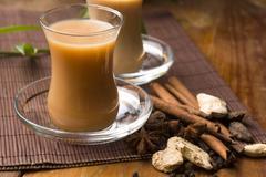 Masala chai Stock Photos