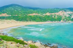 BaiMon beach, DaiLanh, VietNam Kuvituskuvat
