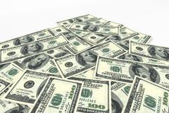 Money background from dollars Stock Illustration