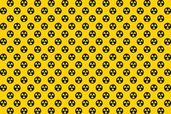 Nuclear Radioactive Radiation Symbol Logo Stock Illustration