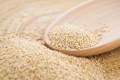 Healthy amaranth grain Stock Photos