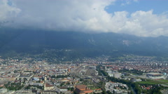Time Lapse At Bergisel, Innsbruck Stock Footage