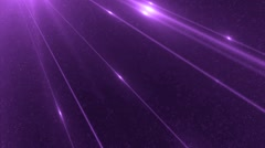 Bright violet flood lights disco background. Stock Footage