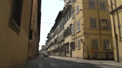 Street in Florence Stock Footage