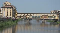Ponte Vecchio Stock Footage