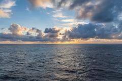 Sun set at sea Kuvituskuvat