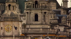 Stationary spire close-up from Saint James Park Stock Footage