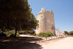 Torre del Tajo (Andalucia) - stock photo