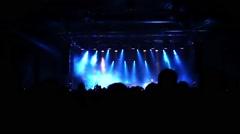 Rock Concert - stock footage