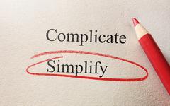 Red circle simplify Stock Photos
