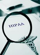 HIPAA document Stock Photos
