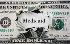 Medicaid costs Stock Photos