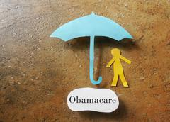 Obamacare health insurance - stock photo