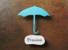 Pension plan - stock photo
