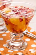jelly sweets with citrus fruits - stock photo