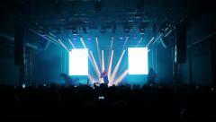 Rock Concert Stock Footage