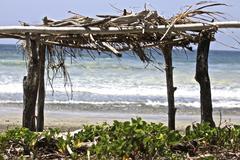 Stock Photo of Beach Shack