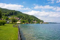 Attersee - stock photo