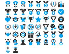 Competition and Awards Icons - stock illustration