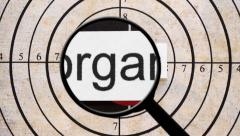 Search for organic products Stock Footage