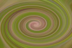 Abstract green spiral pattern - stock illustration