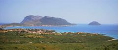 Golfo Aranci Sardinia Italy - 30FPS Stock Footage