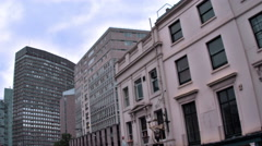 Buildings near Ring Road in London, England. Stock Footage