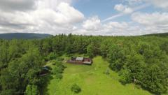 Stock Video Footage of Catskills Aerial