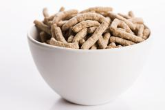 Dietary fiber in bowl Stock Photos