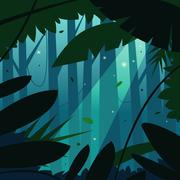 The Jungle Stock Illustration