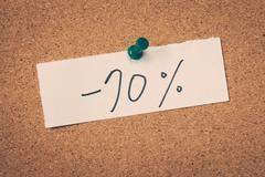 70 seventy percent off Stock Photos