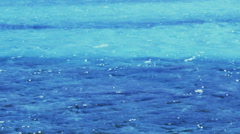 Glistening Azure Turquoise Blue Sea Water Background - 25FPS PAL Stock Footage
