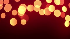 Big bokeh lights loopable background. - stock footage