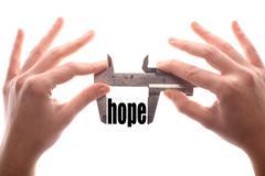 Less hope Stock Photos