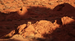 Time-lapse of darknes setting on Elephant rock. Stock Footage