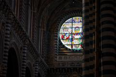 Siena Cathedral in Tuscany, Italy - stock photo