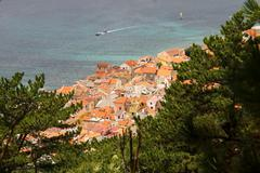 Baska on Island Krk - stock photo