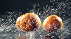 Orange Fruit Stock Footage